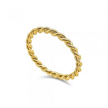 TRENZA 18K yellow gold...