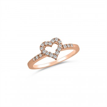 COEUR 18K rose gold...