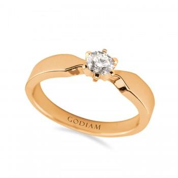 SADA 18K rose gold diamond...