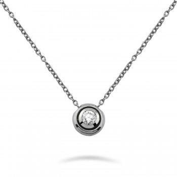 MOON 18K white gold diamond...